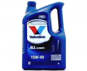 VALVOLINE ALL-CLIMATE 15W40 5L