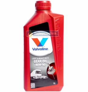 VALVOLINE Heavy Duty GEAR OIL 80W90 GL-4 1L