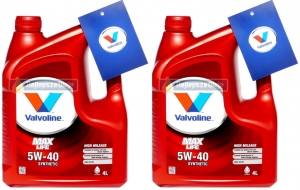 VALVOLINE MaxLife 5W40 SYNTHETIC 8L (2 x4L)
