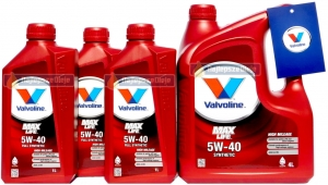VALVOLINE MaxLife 5W40 SYNTHETIC 7L (4L + 3L)