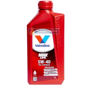 VALVOLINE MaxLife 5W40 SYNTHETIC 1L