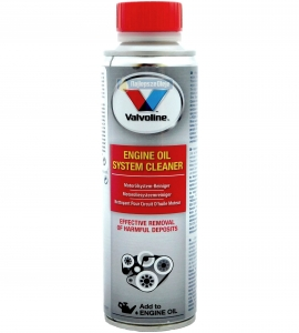 VALVOLINE engine oil system cleaner 300ml - ENGINE FLUSH - czyści silnik - płukanka do silnika